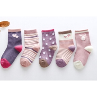 儿童袜子纯棉女童中筒袜夏季薄款童袜宝宝袜4-6岁