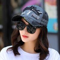 棒球帽女韩版时尚街头鸭舌帽休闲百搭太阳帽户外遮阳防晒帽潮