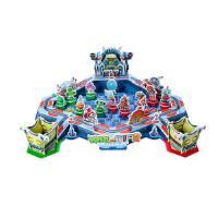 植物大战僵尸2立体游戏拼插 宇宙超级战队跳跳棋 拼插玩具益智男孩模型拼图游戏 3-6-8岁儿童动手能力培养立体拼图