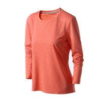 adidas阿迪达斯女装长袖T恤跑步上长运动服AX7483