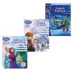 Disney Learning Frozen Adding and Subtracting Ages 6-7 迪士尼冰