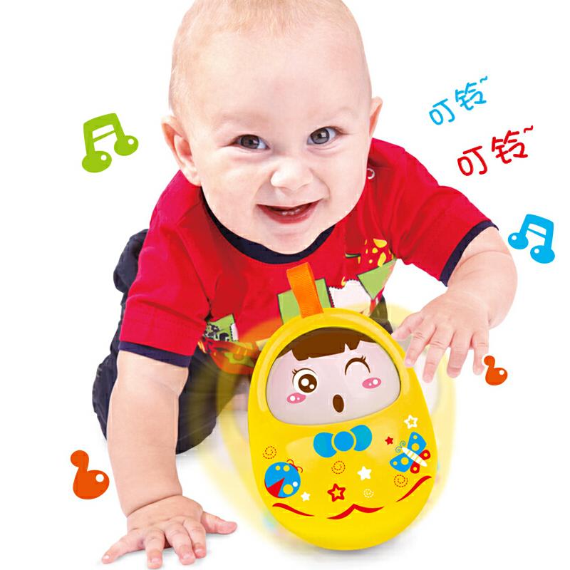 婴儿大号不倒翁带声音宝宝玩具新生儿童男女孩玩具