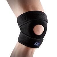 LP欧比运动护膝透气短版可调式膝束套788KM 骑行球类膝盖护具