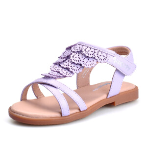 史努比女童 夏季新品童凉鞋 舒适可爱童鞋 防滑儿童凉鞋