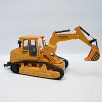 儿童遥控履带工程车 灯光声音遥控挖掘机玩具
