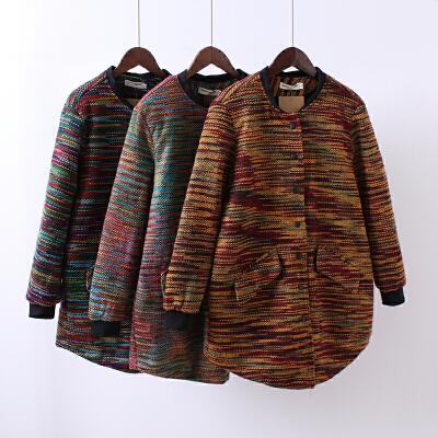 P7女装韩版棉衣女中长款棉袄大码加厚冬季外套立领混色棒球服0.82 发货周期:一般在付款后2-90天左右发货,具体发货时间请以与客服协商的时间为准