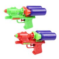 夏天沙滩戏水玩具双瓶滋水枪儿童幼儿园礼物小孩玩具批发地摊货源 双瓶水枪 标准配置