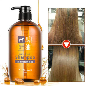 马油无硅油洗发水 清柔去屑控油洗发露男女士护发正品持久留香