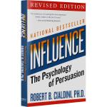 Influence 影响力 英文原版 社会心理学书籍 全英文版现货正版进口英语书