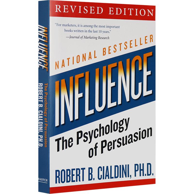 Influence 影响力 英文原版 社会心理学书籍 全英文版现货正版进口英语书 财富杂志推荐 西奥迪尼
