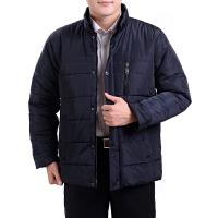 中年爸爸装冬季男士加厚棉袄中老年男装冬装外套父大码棉衣 0 / L