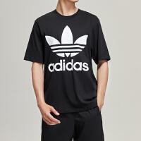 adidas阿迪达斯三叶草男子短袖T恤年休闲运动服CD1696