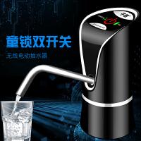 子路桶装水抽水器电动上水器充电压水器矿泉水桶支架饮水机水龙头