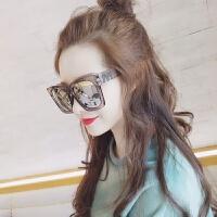 韩版优雅舒适偏光太阳镜女2018新款大脸有度数超大框圆脸墨镜