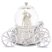 圆舞曲音乐盒八音盒水晶球雪花女生结婚新婚生日情人节礼物