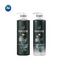 【宝洁】潘婷头皮净透强发洗护套装 洗发水530ML+护发素530ML