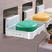 泰蜜熊免打孔肥皂盒卫生间沥水创意壁挂香皂架浴室置物架吸盘肥皂架