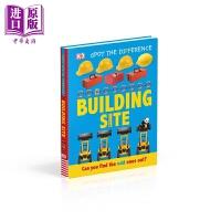 【中商原版】Building Site DK点点启蒙:建筑物 英文原版 进口图书 亲子低幼 触摸纸板书 2-5岁