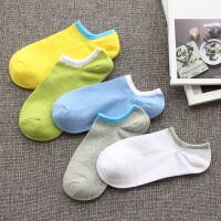 袜子男士船袜薄款春短袜浅口低帮纯棉运动袜透气纯色短筒男袜 收藏后,买第二件6元