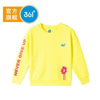 【超品日秒杀价:39】361度 女童套头卫衣 春季K61814301