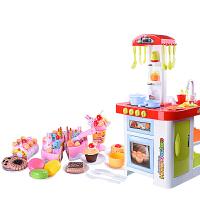 儿童过家家厨房做饭生日蛋糕切切乐煮饭玩具套装女孩