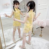夏�b�B衣裙夏季�和�夏季8�q小女孩裙子
