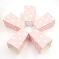 儿童生日派对布置用品派对粉色一次性爆米花桶纸桶纸盒子纸杯子甜品台布置装饰品道具