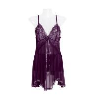 性感情趣内衣透明蕾丝吊带睡裙情趣套装TM 均码
