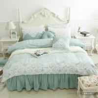 家纺冬天加绒床单被套珊瑚绒四件套毛绒加厚保暖法兰绒床上用品公主风