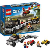 LEGO乐高城市系列 全地形车赛车队60148