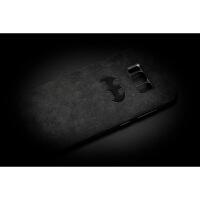 毛皮三星S8 S8+ note8手机壳防摔防滑软壳全包手机套 蝙蝠 合金镶嵌 备注手机型号