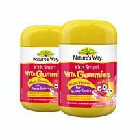 【网易考拉】2瓶装【品牌直采】 Nature's way 佳思敏儿童吃饭香软糖 60粒/瓶 新老包装随机