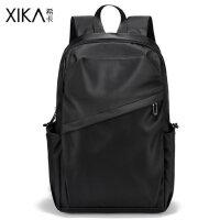 背包男士双肩包商务15.6寸电脑包韩版休闲大容量旅行包大学生书包