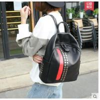 双肩包女韩版学院风 时尚休闲女包书新款包包背包女双肩韩可礼品卡支付