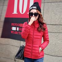 反季女士棉衣短款修身韩版轻薄羽绒处理冬外套加大学生小棉袄