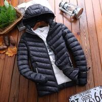 点就 可脱帽棉衣男冬季韩版学生bf短款纯色棉服保暖女棉服潮帅气外套M666