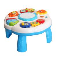 婴儿多功能游戏桌 宝宝早教机音乐幼儿童趣味学习玩具台1-3岁