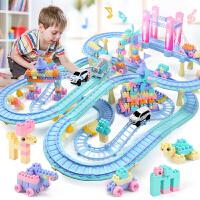 儿童小火车拖马斯玩具套装轨道车 电动充电男孩子玩具车