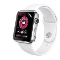 【包邮】苹果手表水凝膜 apple watch全屏膜 iwatch手表膜 保护膜 手表贴膜 全屏覆盖软膜 全屏无白边前