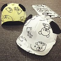 夏季宝宝帽子1-2岁春秋鸭舌帽防晒遮阳棒球帽男女婴儿帽12-24个月
