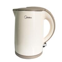 Midea/美的 MK-H415E2J/HJ1508a电热水壶 电水壶304不锈钢烧水壶