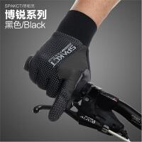 20180320094440427冬季骑行手套全指防风保暖手套自行车装备摩托车长款手套男