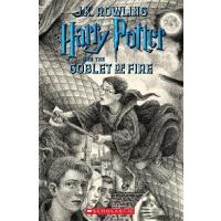 【现货】英文原版 哈利波特与火焰杯 20周年纪念版 美国版 Harry Potter and the Goblet o