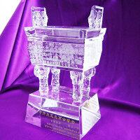 公司活动开业礼品定制水晶鼎摆件 商务送客户实用聚会纪念品定做创意礼品定制