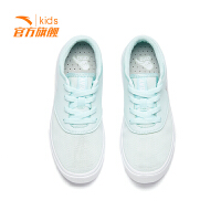 安踏童鞋女童鞋子2019新款春款板鞋儿童运动鞋小白鞋女板鞋休闲鞋 32858026