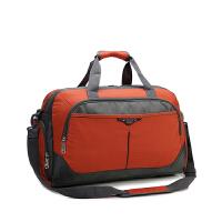 智尔娜2016大容量韩版尼龙隔层手提斜跨短途行李单肩包女 户外旅行男包