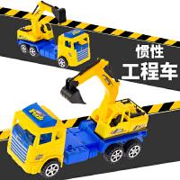 儿童玩具创意惯性工程车男孩礼品