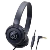 铁三角(audio-technica)S100IS ATH-S100IS 时尚经典 HIFI音质线控通话便携头戴式耳机