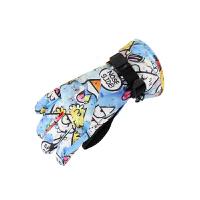 儿童滑雪手套 大童防风防水男女青少年保暖滑雪手套N9660