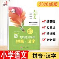 2020版 快乐考生大语文 小学语文专项练习手册 拼音 汉字 河海大学出版社